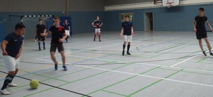 Hallenfußballturnier in Georgenhausen/Zeilhard