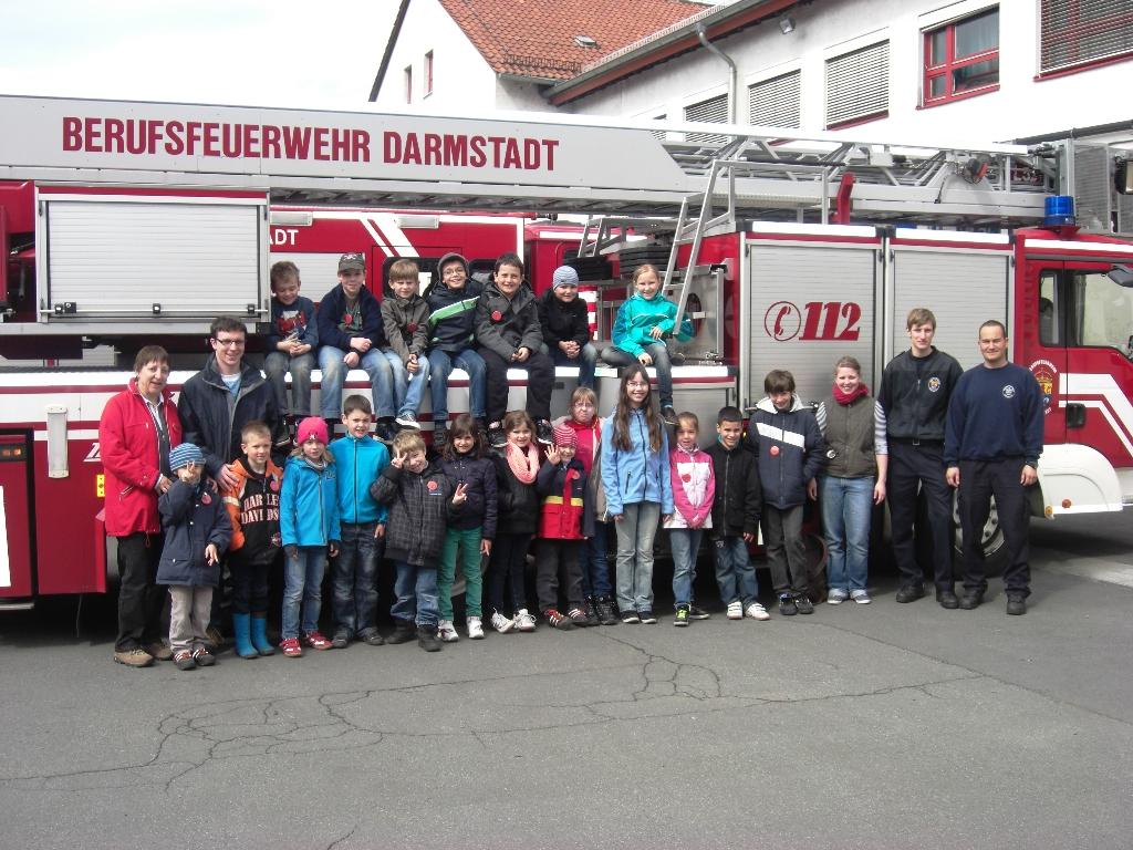 """Spannende und lehrreiche Tage zum Thema """"Die Feuerwehr"""""""