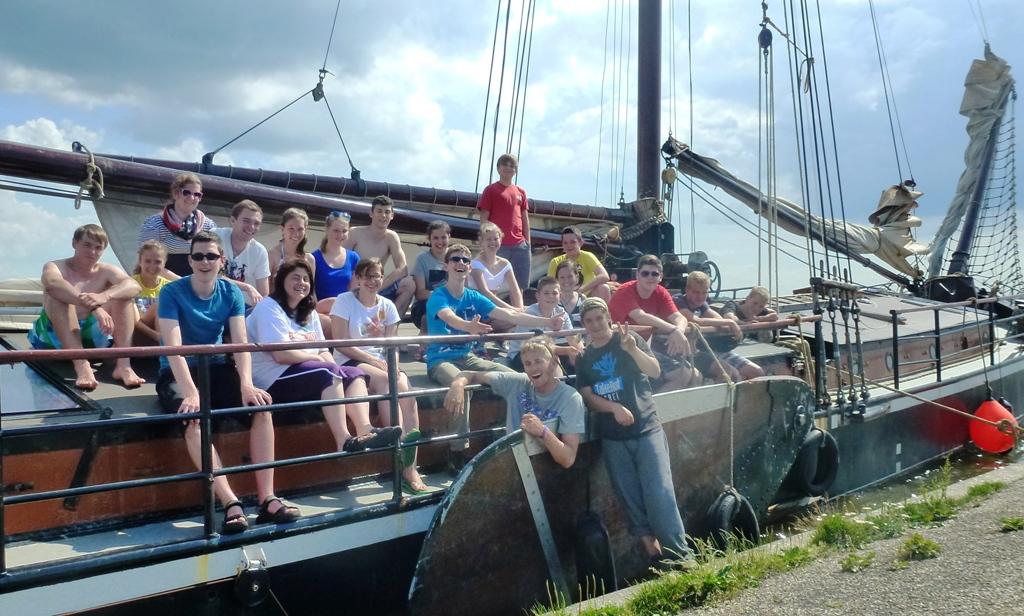 Sommerfreizeit 2012 – Ein Segeltörn auf dem IJsselmeer und der Nordsee