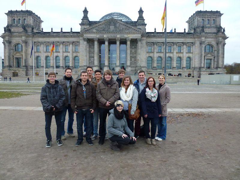 Jugendforum der Stadt Babenhausen macht Berlin unsicher!