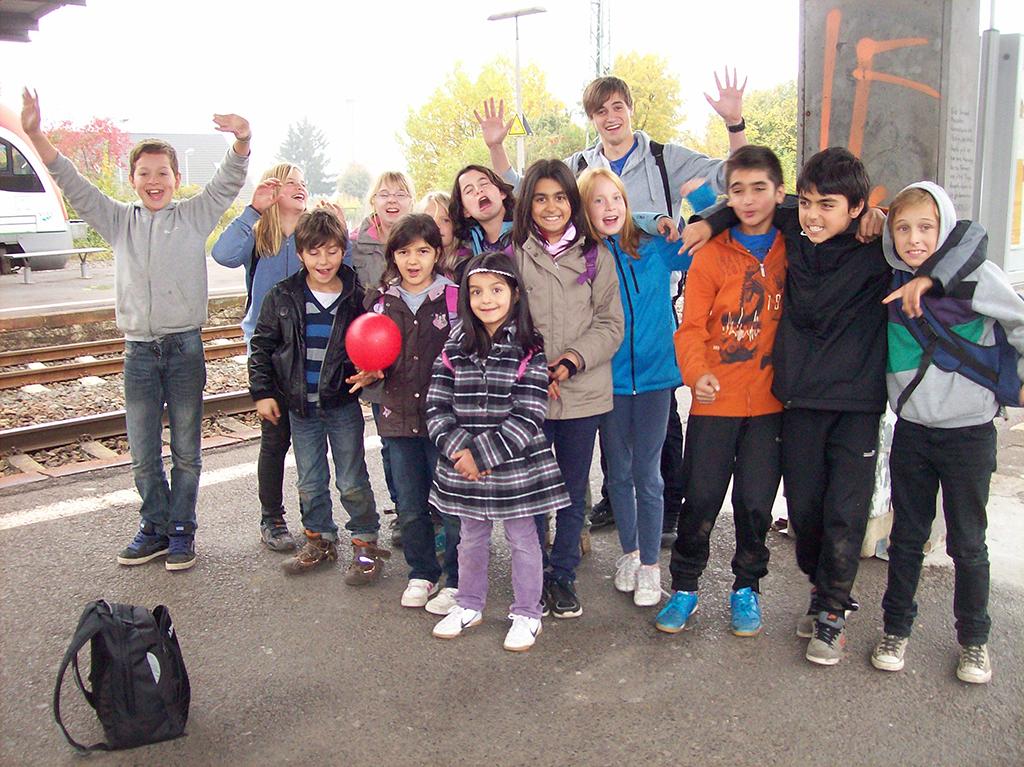 An der Herbstfreizeit teilnehmende Kinder fühlten sich in der Nibelungenstadt Worms wie zuhause!