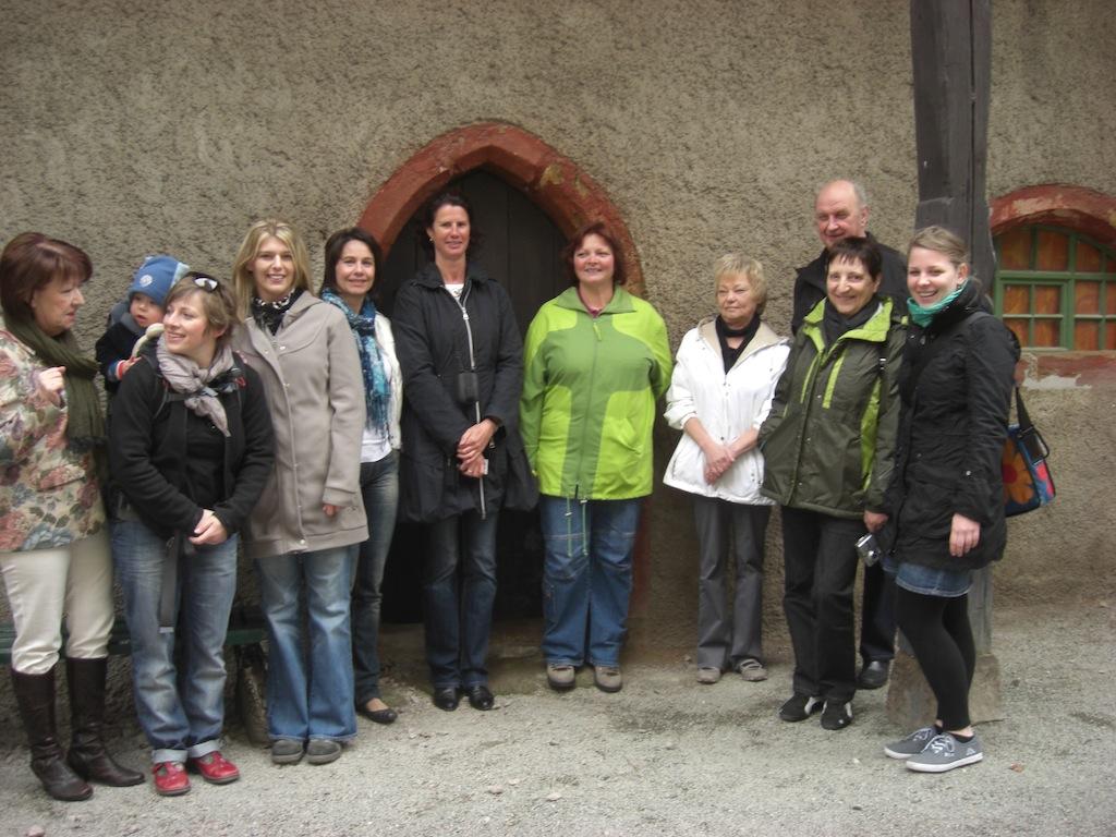 Kinder- und Jugendförderung Babenhausen zum Fachkräfte-austausch in Lichtentanne / Sachsen