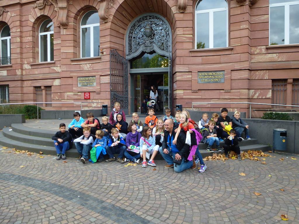 Tagesausflug ins Senckenbergmuseum