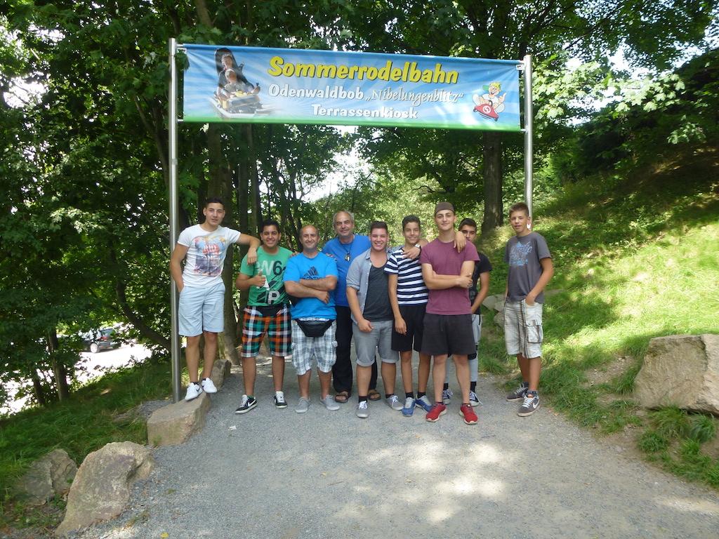 Ausflug zur Sommerrodelbahn in Waldmichelbach