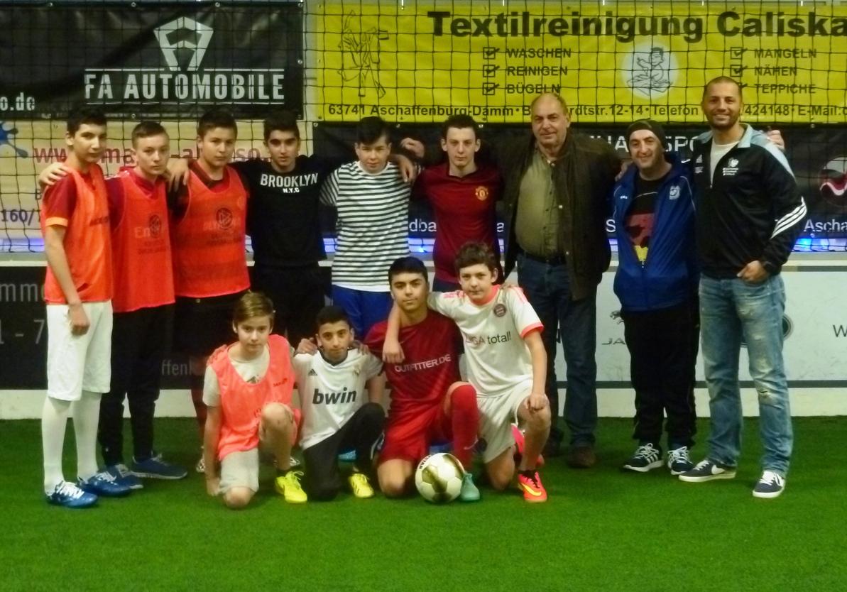 Fußball in der Soccerhalle Mainaschaff