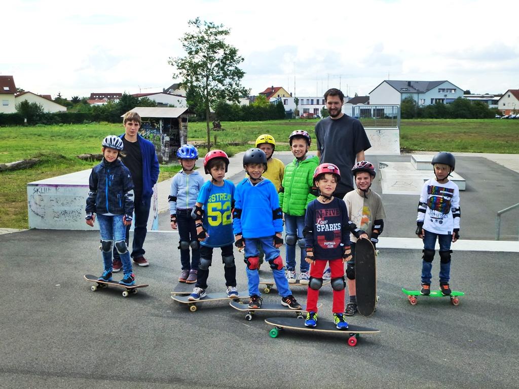 "Anfängerkurs ""Skateboardfahren"""