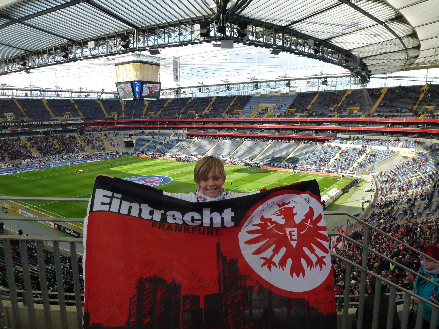Fahrt mit der KiJuFö zur Frankfurter Eintracht