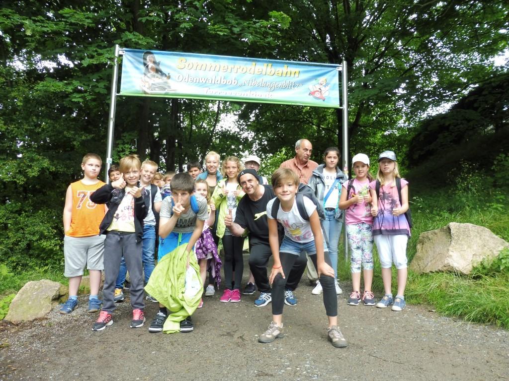 Ausflug zur Sommerrodelbahn nach Wald-Michelbach