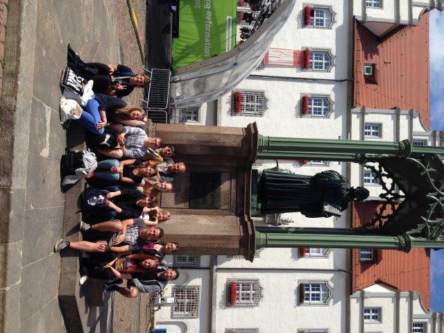 Historische Orte, Kirchen, Denkmäler und  500 Jahre Luther