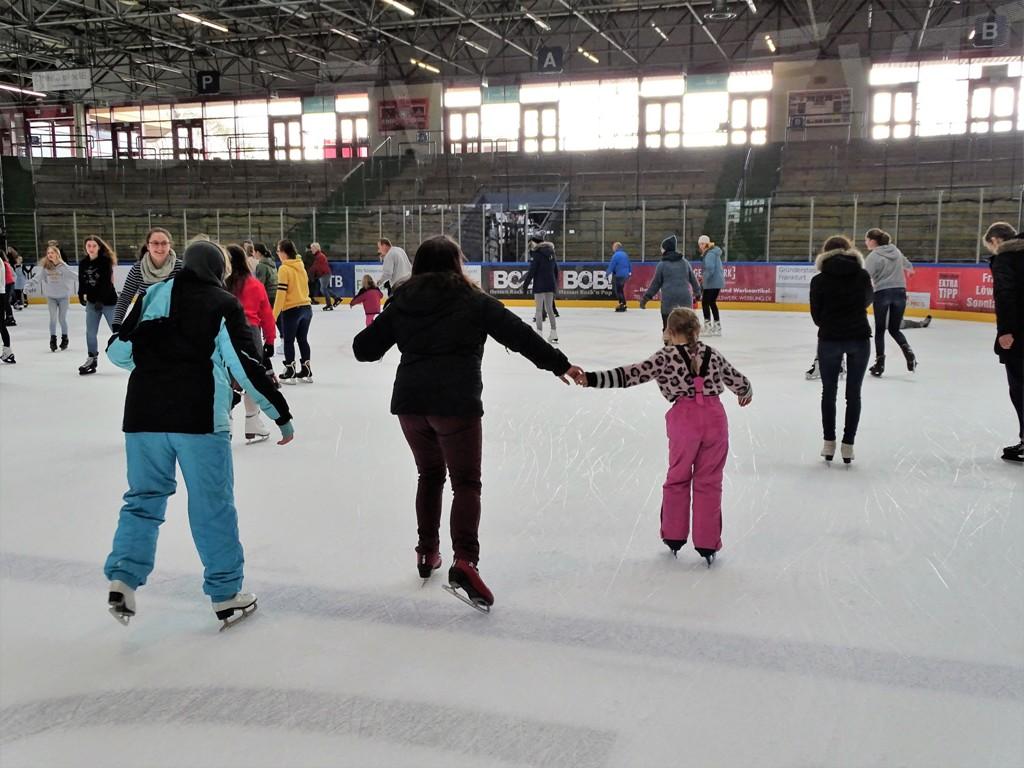 Ausflug in die Eissporthalle Frankfurt