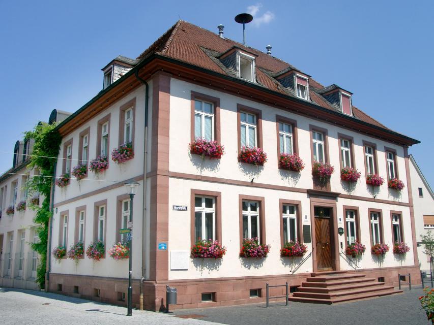 Das Rathaus in Babenhausen