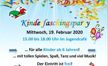 """Babenhausen – """"HELAU"""": Kinderfaschings-Party im JUZ Am Mittwoch, 19. Februar 2020 steigt von 15.00 Uhr bis 18.00 Uhr für alle 6- bis 12-jährigen """"Narren"""" und Karnevalsfreunde eine Kinderfaschings-Party im Jugendzentrum der Stadt Babenhausen. Hier können sich kostümierte Karnevalistinnen und Karnevalisten auf eine närrische Faschingsfete mit viel Spaß und stimmungsvoller Musik freuen. Die Kinder- und Jugendförderung […]"""