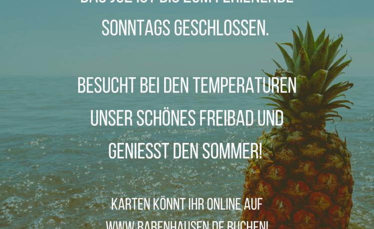 Summerbreak der KiJuFö