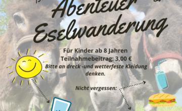 Die vier Esel Frodo, Fridolin, Bruno und Beppo vom Landschaftspflegehof Stürz aus Darmstadt beweiden derzeit den Wald von Babenhausen. Ihre Aufgabe ist es u.a., das Vogel- und Naturschutzgebiet abzugrasen und damit leisten sie schon einen wesentlichen Beitrag, die dortigen Arten der Tier- und Pflanzenwelt zu erhalten. Sie fressen beispielsweise das vertrocknete Gras, Laub oder kleine […]