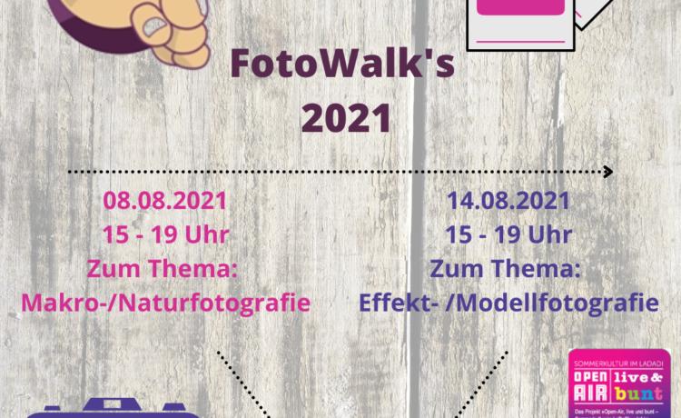 """Bawwehäuser Kulturprogramm """"Local Heroes"""" Fotografiebegeisterte aufgepasst! Foto-Walks mit dem """"Team-Matrixer"""""""
