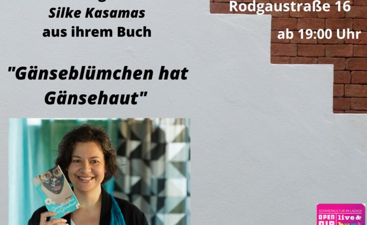 """Die Babenhäuser Autorin Silke Kasmas liest aus Ihrem Buch """"Gänseblümchen hat Gänsehaut"""""""
