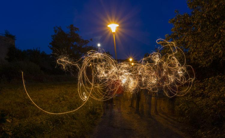 """Bawwehäuser Kulturprogramm """"Local Heroes"""" – Workshop """"Lichtmalerei"""""""